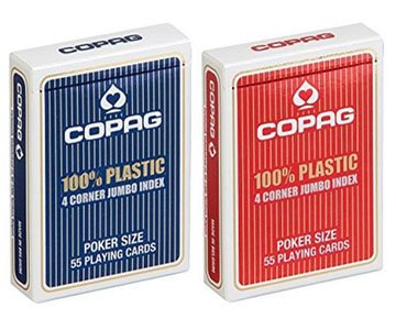 Copag 4-PIP Marked Cards