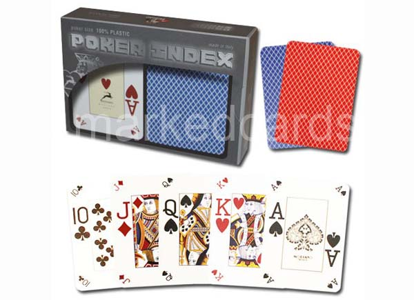 modiano poker index marked decks
